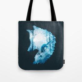 Fox's Winterland Tote Bag