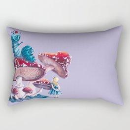 Caterpillar and Alice Rectangular Pillow