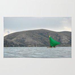 Titicaca sail 2 Rug