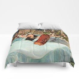 Breakfast in Bed Comforters