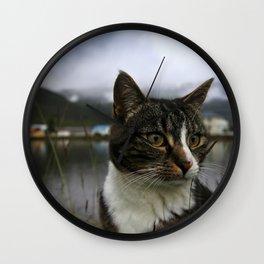 Icelandic Cat Wall Clock