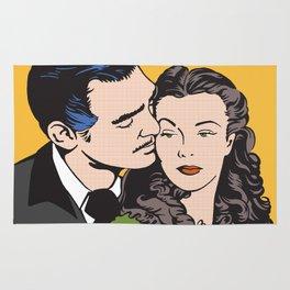 Rhett Butler and Scarlett O'Hara Rug