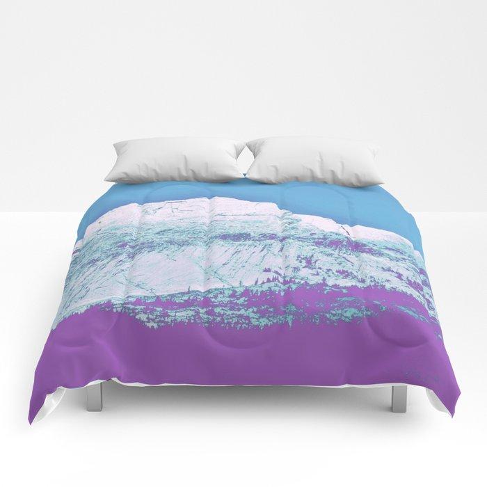 Mountain unexplained Comforters