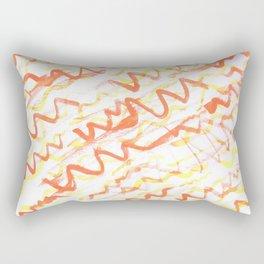 Ketchup and Mustard Rectangular Pillow