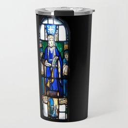 St Margaret Stained Glass Travel Mug
