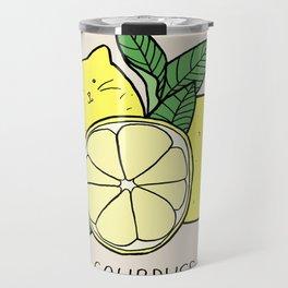 Sourpuss (colourised) Travel Mug
