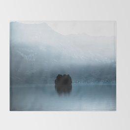 Lake Brienz, Switzerland  Throw Blanket