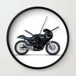 Full fairing vintage racer Wall Clock