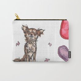 Dogs with Balloons Carry-All Pouch
