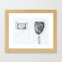 Different Dimension  Framed Art Print