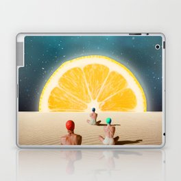 Desert Moonlight Meditation Laptop & iPad Skin