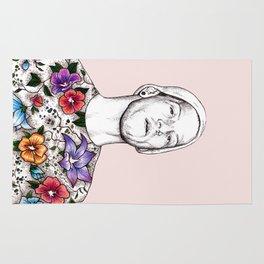 Joshua Dun in flowers Rug