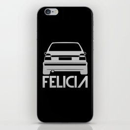 Skoda Felicia - silver - iPhone Skin
