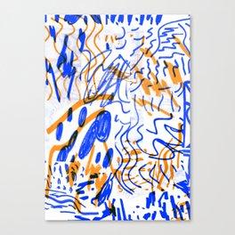 Rumours color Canvas Print