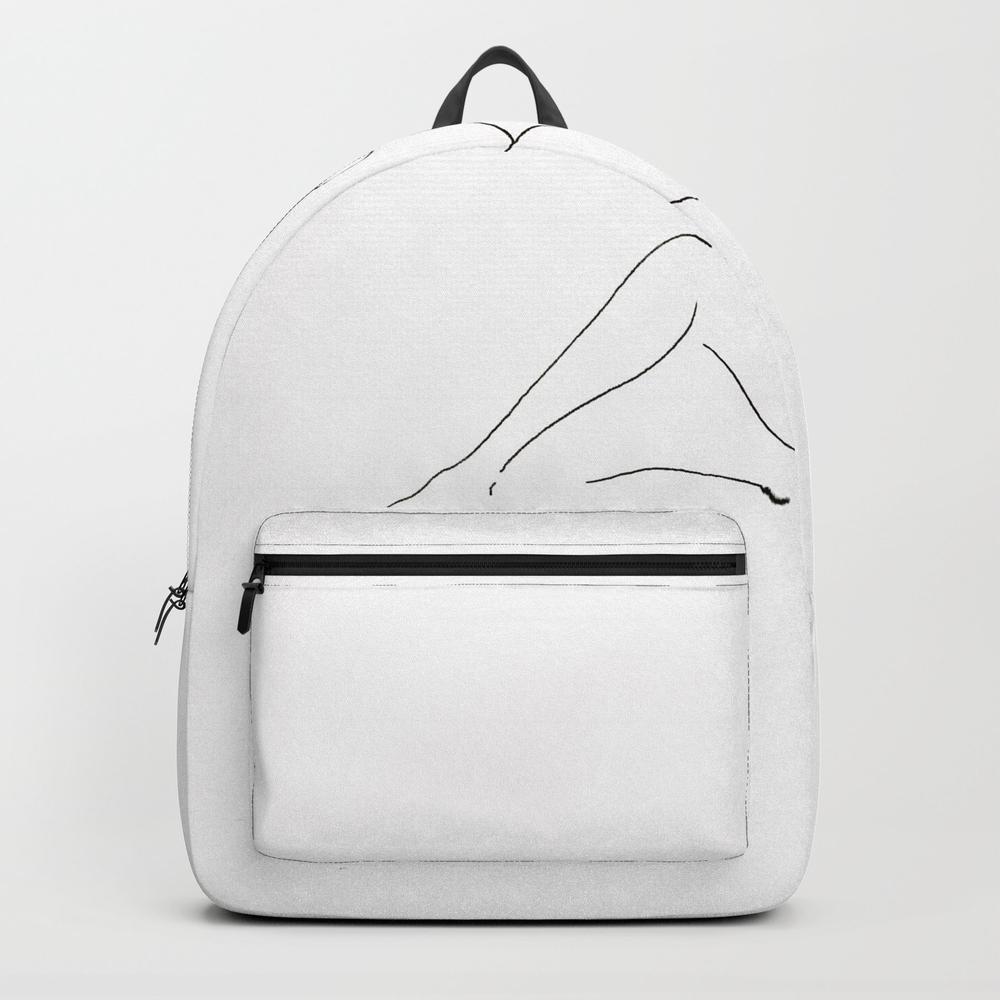 Sitting Woman Backpack by Savandar BKP9126060