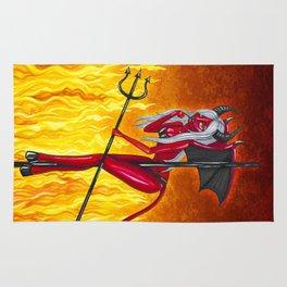 Poletober - Devil Rug