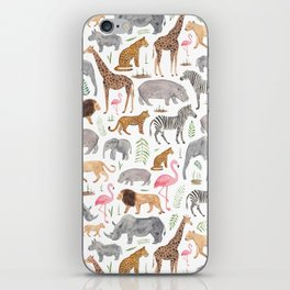 Safari Animals iPhone Skin