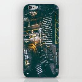 Night walking street 4 iPhone Skin