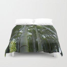 Bambu forest Duvet Cover