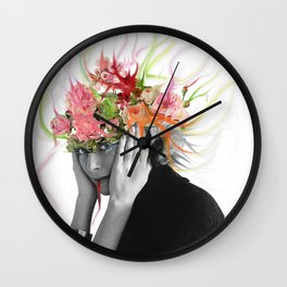 Familiar Feeling Wall Clock