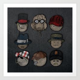 You like hats? I'm mad about hats! Art Print