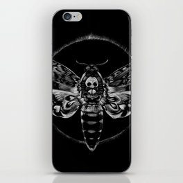 Death's-head Hawkmoth iPhone Skin