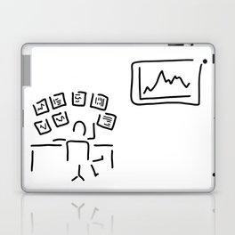stock exchange stockbroker fund manager Laptop & iPad Skin