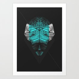 Old Wise Man Art Print