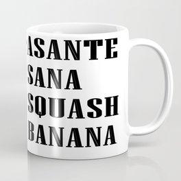 Asante Sana Squash Banana  Coffee Mug