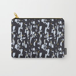 Penguins - bigPattern Carry-All Pouch