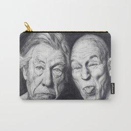 Patrick Stewart & Ian McKellen Carry-All Pouch