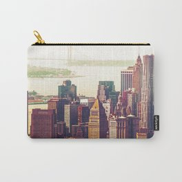 New York City Skyline Colors Carry-All Pouch
