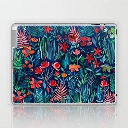 Tropical Ink - a watercolor garden Laptop & iPad Skin