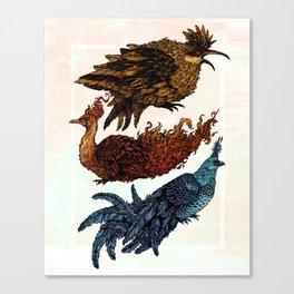 Legendary Birds Canvas Print