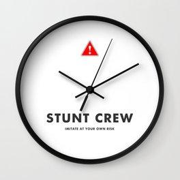 Stunt Crew Wall Clock