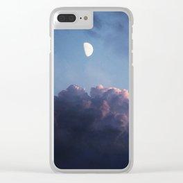 EVENING DREAM - BLUE Clear iPhone Case
