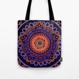 Colourful Mandala of Life Tote Bag
