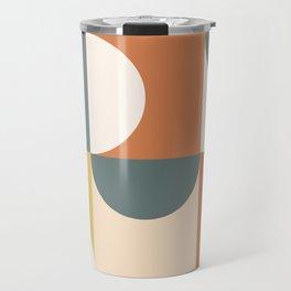 Mid Century Modern Geometric 23 Travel Mug