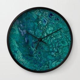 Reptillia Macro1 Wall Clock