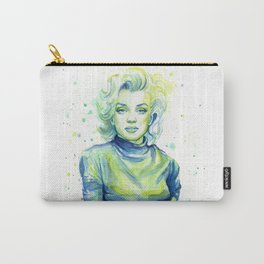 Marilyn Watercolor Carry-All Pouch