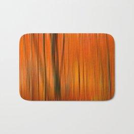 Fall forest (abstract) Bath Mat