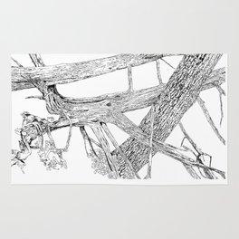 tangled cedars Rug