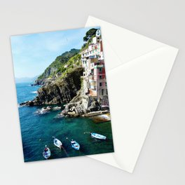 Riomaggiore Harbor Stationery Cards