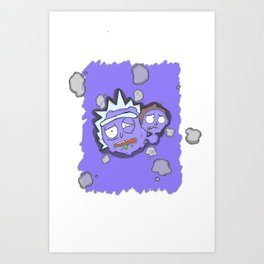 Ah W-w-Weez R-r-Rick Art Print
