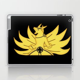 The Demon Fox Within Laptop & iPad Skin