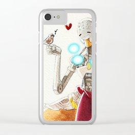 Zenyatta plus a sparrow Clear iPhone Case
