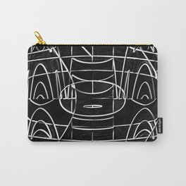 Monochrome Wires Carry-All Pouch