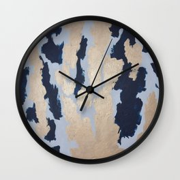 Fingerprint Wall Clock
