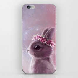 Fairy bunny iPhone Skin