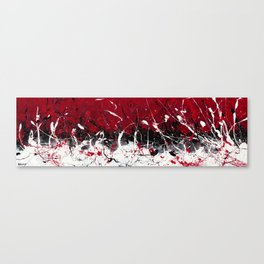 Groove In The Fire Canvas Print